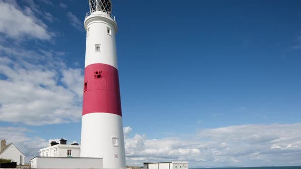 Thumbnail for lighthouse portland bill coast sea england