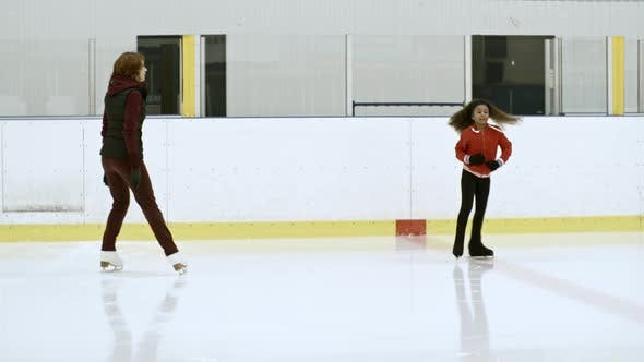 Thumbnail for Little Figure Skater Learning Scratch Spin