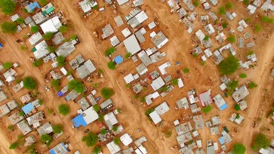 Thumbnail for Aerial  View of Typical Architecture in sub-Saharan Africa