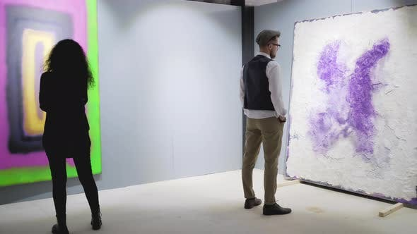 Modern Art Attracts Them