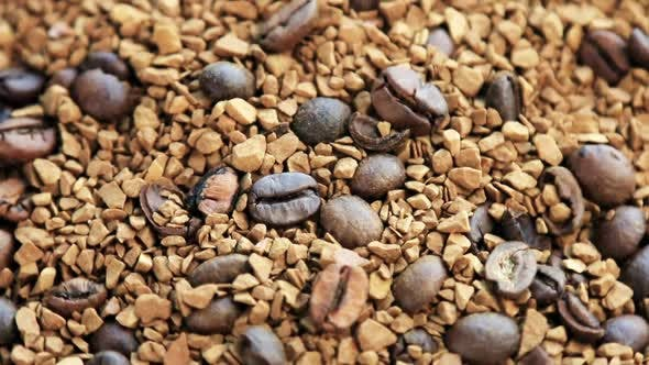 Thumbnail for Roasted Coffee Beans and Granulated Coffee