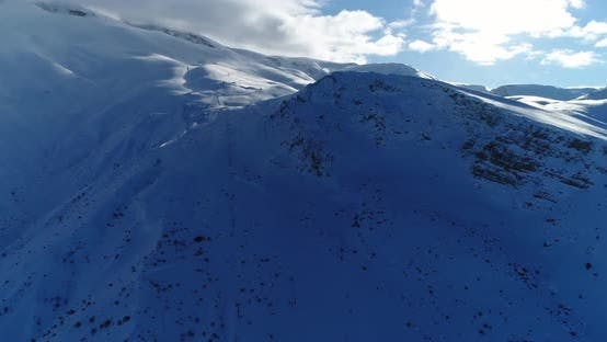 Thumbnail for Snowy Mountains Aerial View