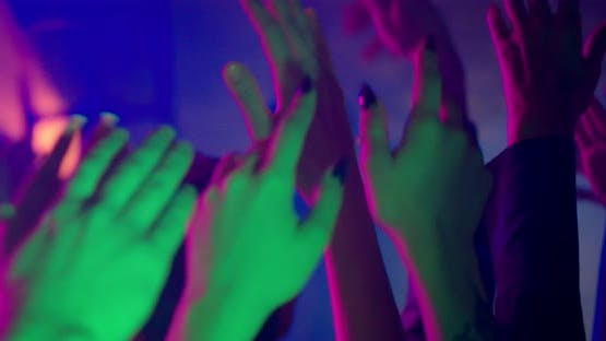 Hands at a Party