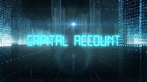 Skyscrapers Digital City Tech Word Capital Account