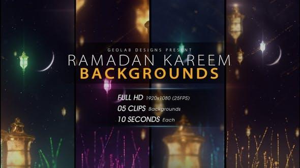 Cover Image for Ramadan Kareem Backgrounds