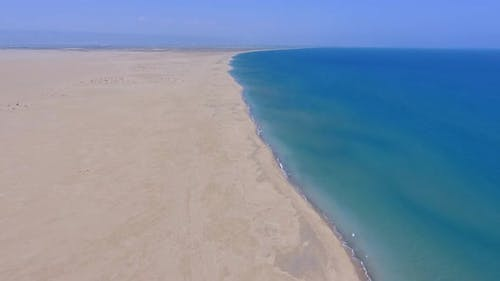 Gigantic Vast Beach Coastline