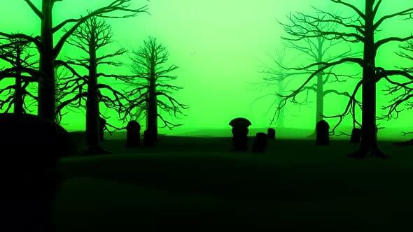 Thumbnail for Green Halloween 4k