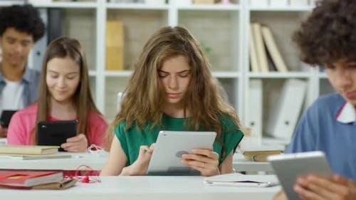 Teens in School