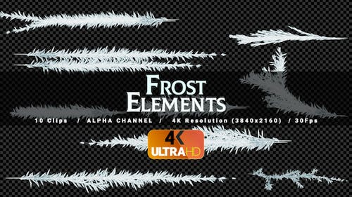 Frost Lines - 10Clips - 4K
