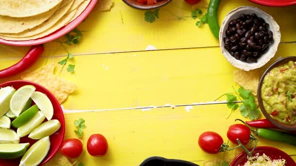 Thumbnail for Delicious Chilli Con Carne Ingredients Waiting To Be Prepared