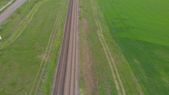 Empty Railway Road