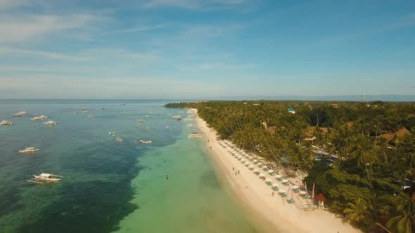 Thumbnail for Beautiful Sandy Beach Philippines