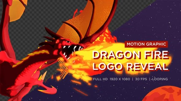 Dragon Fire Logo Reveal