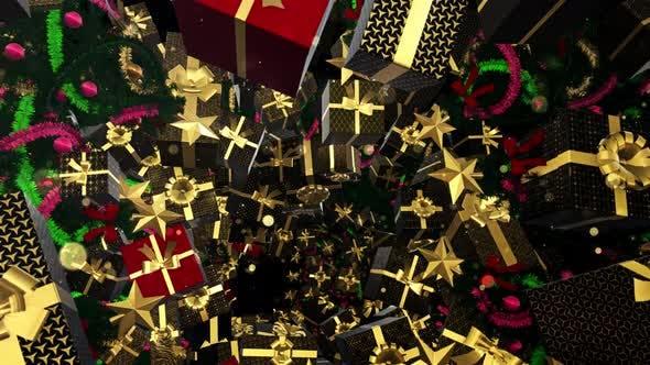 Thumbnail for Weihnachtsgeschenk Box Stil Art Deco 07 4K