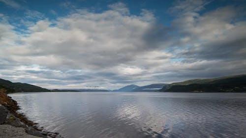 Lake water norway nature timelapse