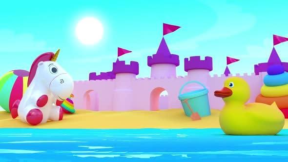 Thumbnail for Kids Background Loop 2K