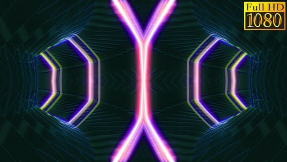 Thumbnail for Kaleidoscope Vj Loops V25
