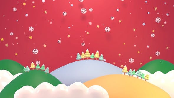 Cover Image for Christmas Mountains