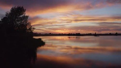 Lake Sunset - Golden Hour