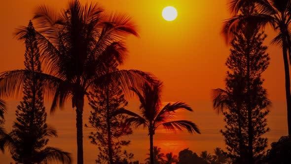 Hawaii Sunset Time Lapse