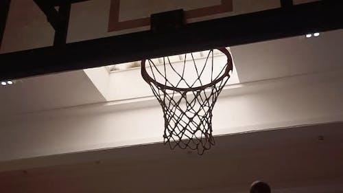 Basketball Hoop Goal Scored