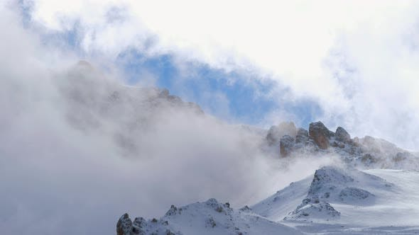 Thumbnail for Foggy In Winter Mountains