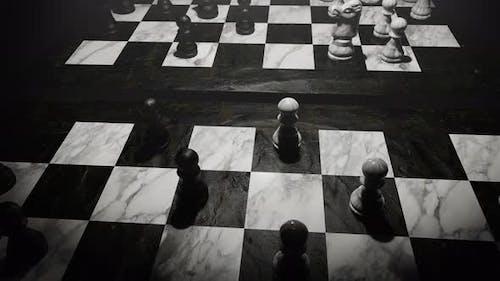 Enjoy In Chess Board 07 4K