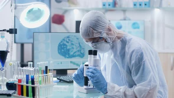 Thumbnail for Researcher Working in Professional Laboratory