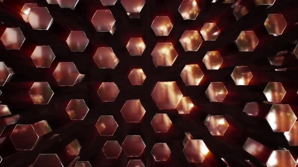 Thumbnail for Metal Hexagon Panning 01