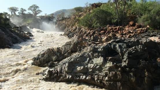 Thumbnail for Epupa Falls on the Kunene River in Namibia