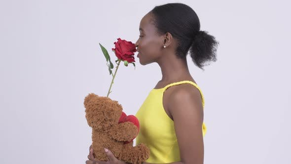 Thumbnail for Sad Young African Woman with Valentine's Day Taken Away