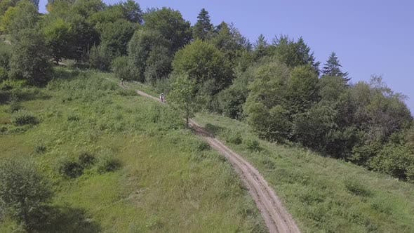 Thumbnail for Motorcycle Race in the Countryside
