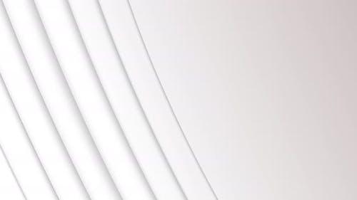 3D-Linien vor weißem Hintergrund