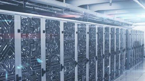 Datenverarbeitung durch ein Rechenzentrum
