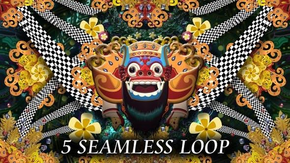 Thumbnail for Bali Barong Mask
