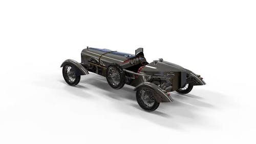 Classic style vintage car