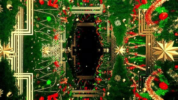 Christmas Tree For Gatsby Style 09 4K