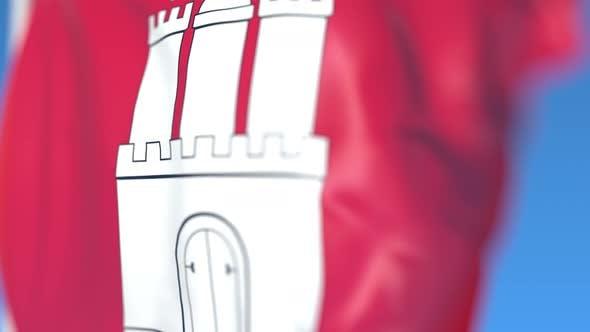 Thumbnail for Waving Flag of Hamburg