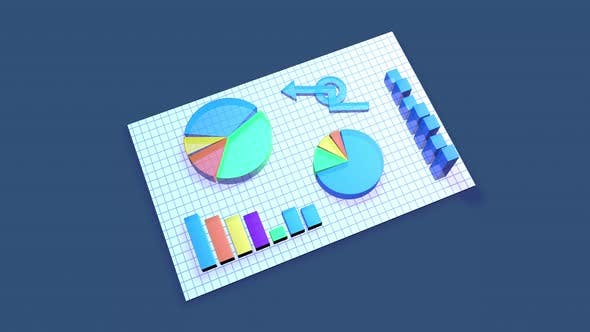 Thumbnail for Business Chart animation