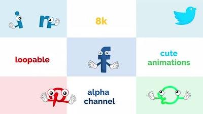 Social Media Characters Pack