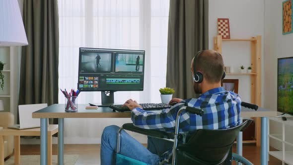 Handicapped Video Editor