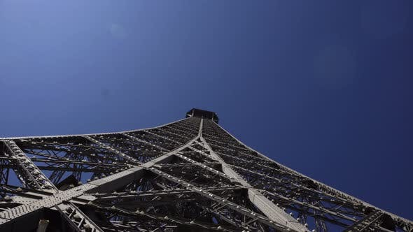 Thumbnail for Perspective View of Metal Construction of Eiffel Tower