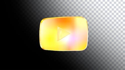 Youtube Goldene Play-Schaltfläche