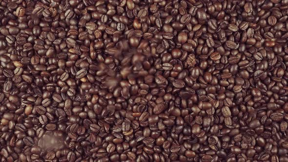 Thumbnail for Roasted Coffee Beans Falling