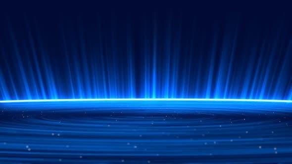 Thumbnail for Elegant Loop Presentation Background(Blue Version)