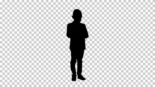 Silhouette Boy, Alphakanal