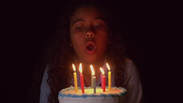 Thumbnail for Blowing Out The Candles On A Birthday Cake