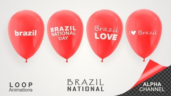 Thumbnail for Brazil National Day Celebration Balloons