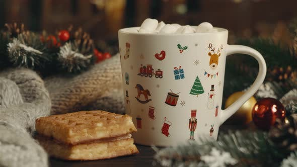 Thumbnail for Hot cocoa with marshmallows