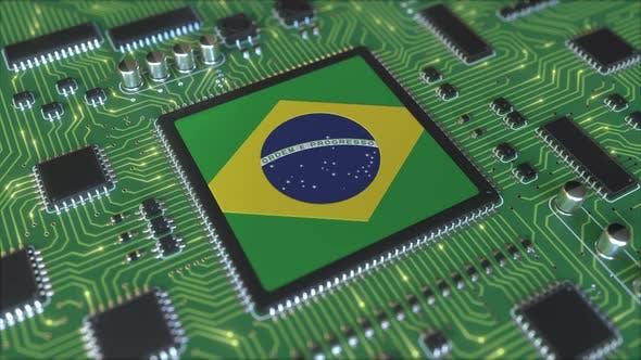 Thumbnail for National Flag of Brazil on the Operating Chipset